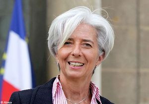 Christine Lagarde, candidate à la direction du FMI ?