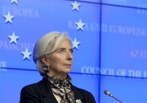 Christine Lagarde en couverture du magazine « Time »