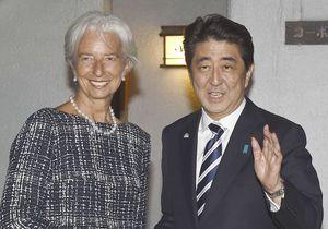 Christine Lagarde : « Les femmes peuvent sauver le Japon »