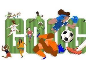 Coupe du monde féminine de football 2019 : Google encourage les Bleues !