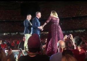 Découvrez le moment super émouvant qui s'est produit durant le concert d'Adele