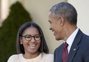 Devinez quel petit job d'été a choisi Sasha Obama