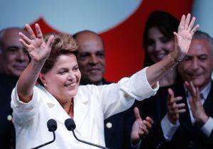 Dilma Rousseff remporte à nouveau la présidence du Brésil