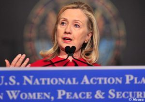 Egypte:Hillary Clinton contre les violences faites aux femmes