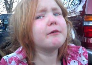 Elections US : les larmes d'une fillette font le buzz