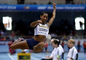 Eloyse Lesueur s'est surpassée en saut en longueur