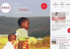 Engagez-vous auprès de la fondation ELLE grâce à son nouveau site