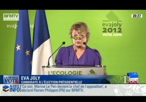 Eva Joly : « Le score du FN est une tâche indélébile »