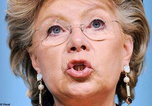 Expulsion de Roms : Viviane Reding ne poursuit pas la France