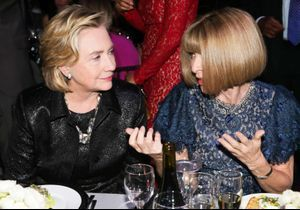 Fashion Week de Paris : Anna Wintour affiche son soutien à Hillary Clinton