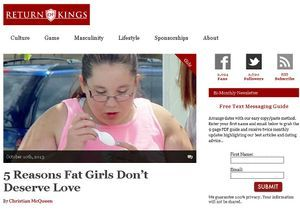 Fat shaming : quand les machos ridiculisent les rondes