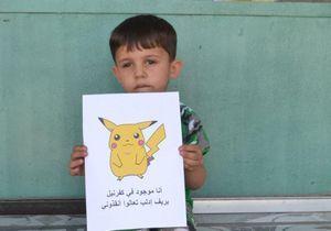 Faut-il Pokemon Go pour qu'on voie les enfants syriens ?
