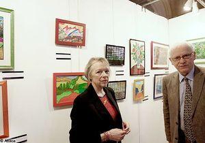 Florence Cassez expose ses toiles à Paris