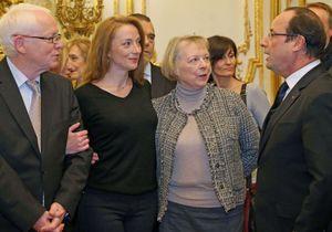 Florence Cassez reçue à l'Elysée par François Hollande