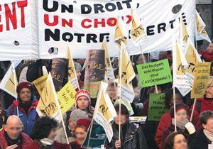 France : mobilisation nationale pour le droit à l'avortement