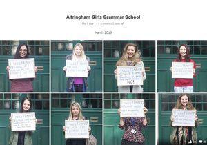 GB : lycéennes et féministes, elles se font insulter