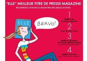 Grand prix des médias 2016: le magazine ELLE à l'honneur