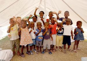Haïti : la situation des enfants s'améliore lentement
