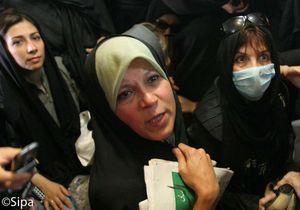 Iran : la fille de l'ex-président Rafsandjani emprisonnée
