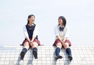 Japon : des pubs inscrites sur les cuisses des filles
