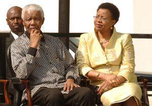 L'épouse de Nelson Mandela exprime sa gratitude