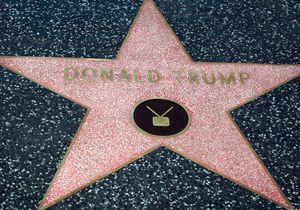 L'étoile de Donald Trump sur le Walk of Fame bientôt supprimée ?