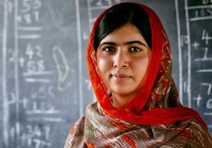 L'uniforme ensanglanté de Malala exposé à Oslo