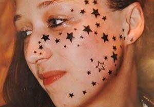 La Belge aux 56 tatouages sur le visage, détatouée !