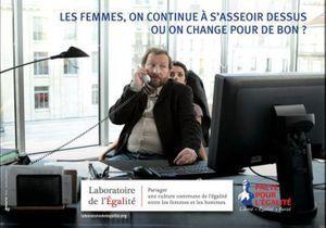 La campagne choc pour l'égalité homme-femme