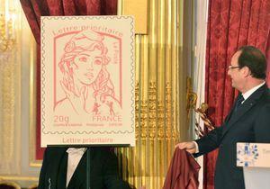 La leader des Femen, nouvelle égérie du timbre Marianne ?