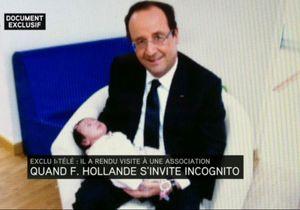 La photo insolite du Président avec un bébé dans les bras