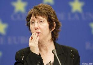 Lady Ashton criti-huée à Bruxelles