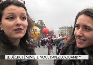 Le déclic féministe, vous l'avez eu quand ?