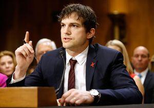 Le discours poignant d'Ashton Kutcher contre l'exploitation sexuelle des enfants