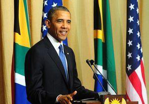 Le « soutien » d'Obama à la femme de Mandela