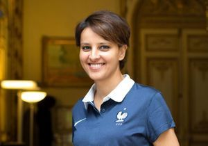 Les Bleus, « assez beaux gosses », selon Najat Vallaud-Belkacem