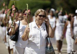 Les « Dames en blanc » de Cuba continuent le combat