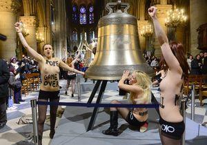Les Femen contraintes de payer 1500 euros d'amende ?