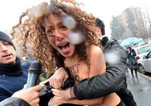 Les Femen s'attaquent à Berlusconi