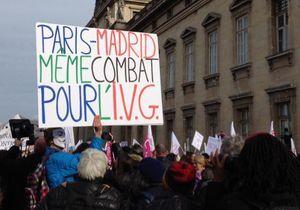 Les Françaises mobilisées pour défendre le droit à l'IVG