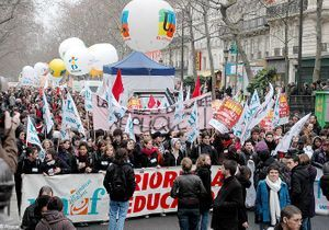Les profs en grève contre la «dégradation» de l'école