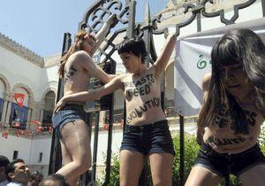 Les trois Femen de retour en Europe