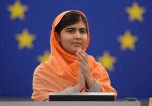 Malala, ovationnée au Parlement européen, cite Voltaire