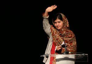 Malala reçoit le prix Anna Politkovskaïa
