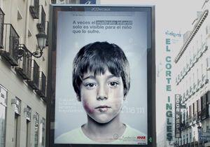 Maltraitance : une pub que seuls les enfants peuvent voir