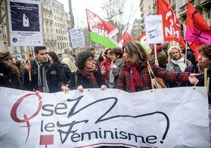 Manifestation à Paris contre la loi espagnole anti-IVG