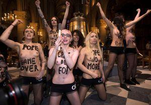 Manuel Valls consterné par l'action des Femen à Notre-Dame