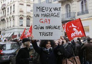 Mariage gay : des milliers de personnes ont manifesté