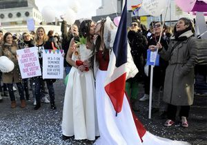 Mariage gay : le Parlement a dit «oui»