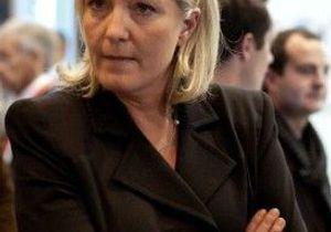 Marine Le Pen dit représenter « la majorité silencieuse »